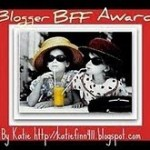 Passing on the Blogger BFF Award