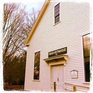 Amesbury Friends Meetinghouse, used by permission from Kathleen Wooten