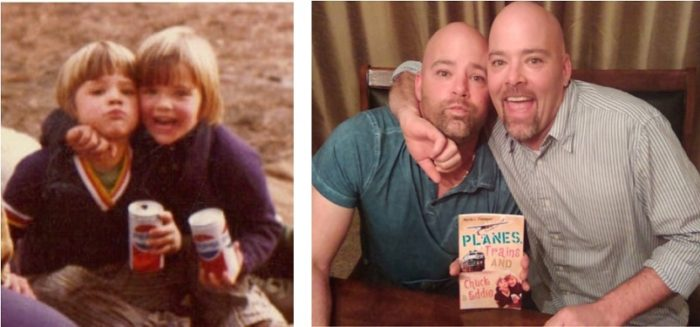 2016_Flanagan_Eddie and Chuck then and now