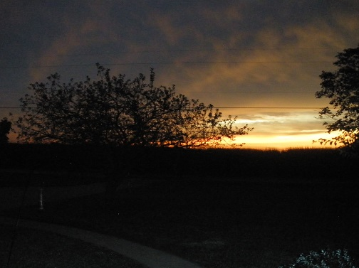 East Central Illinois sunrise September 2016