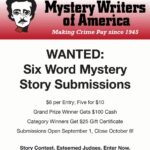 A Six-Word Mystery Contest for Everyone (over 18) Opens September 1st